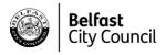 Belfast City Council logo monotone 150x50