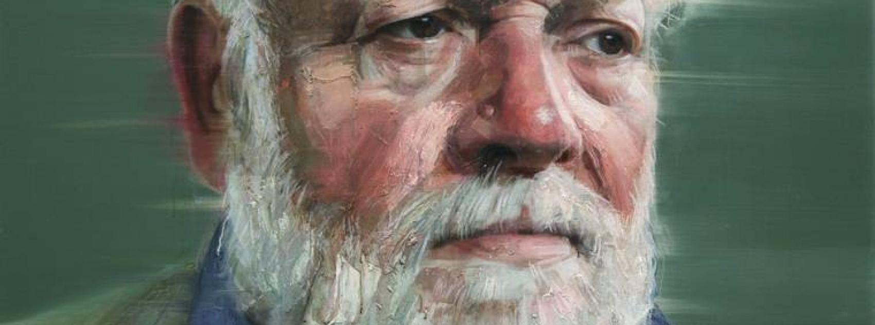 Michael Longley by Colin Davidson