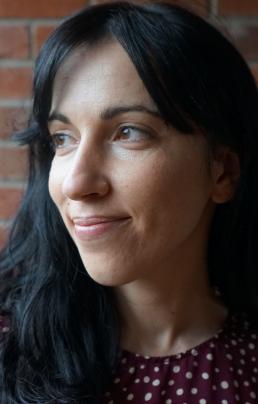 A close up headshot of Eléonore Maudet